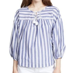 Madewell Striped Pheasant Top